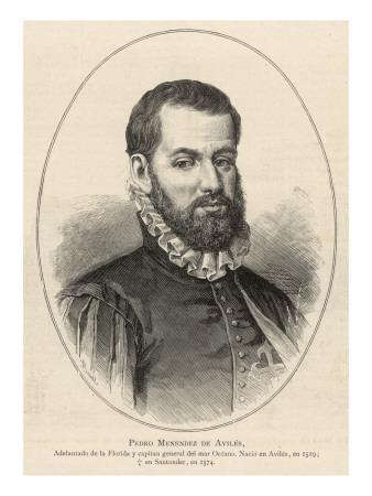 Pedro Menendez De Aviles Spanish Naval Commander
