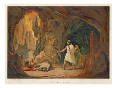 Odysseus and Tiresias