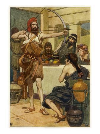 Odysseus and Suitors