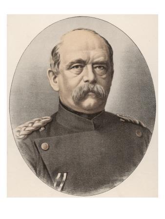 Otto Von Bismarck German Statesman, Circa 1870