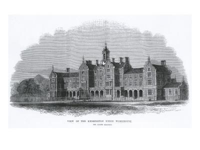 St Mary Abbots Workhouse, Marloes Road, Kensington, London