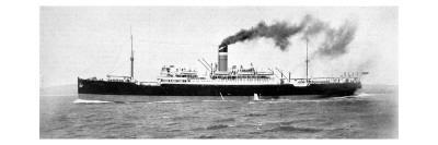 SS 'City of Exeter', July 1914