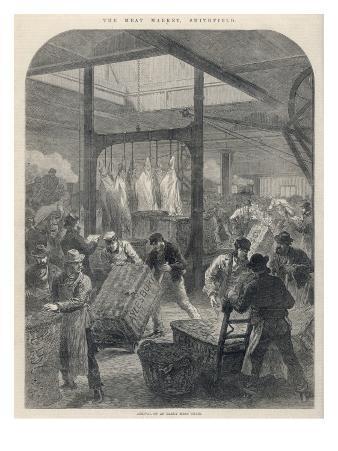 Smithfield Market 1870
