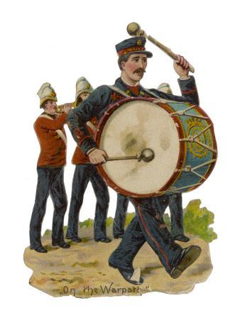 soldiers' with Cornet and Drum