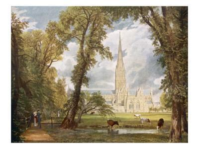 Salisbury Cathedral - Arguably the Finest-Ever Painting of a Church