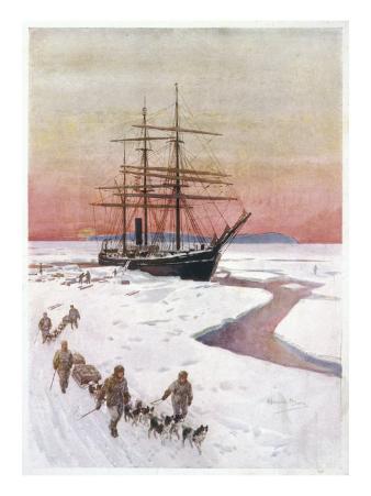 Scotts Ship, the Terra Nova