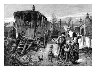 Sketches of Gypsy Life: a Camp Near Latimer Road, Notting Hill