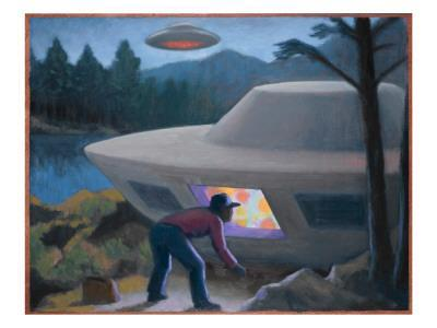 Steven Michalak Encounters a UFO at Falcon Lake, Canada