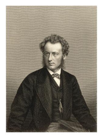 Sir John Everett Millais Pre-Raphaelite Artist in Thoughtful Mood