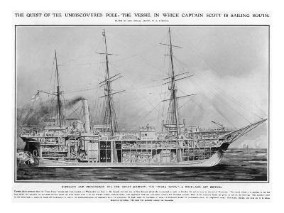 S.S. 'Terra Nova', June 1910