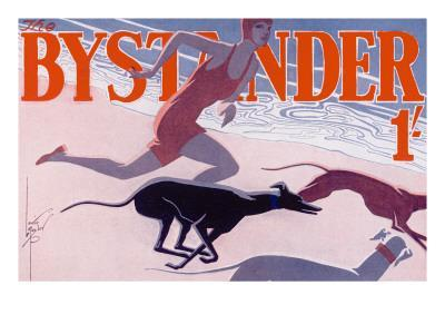 The Bystander Masthead by Laurie Taylor, 1930