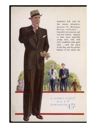 Tailored-To-Measure by Montague Burton Craftsmen