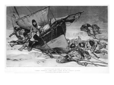 The End of Sir John Franklin's Arctic Expedition, 1845