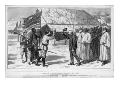 The Meeting of Stanley and Livingstone in Tanganyika, 1871