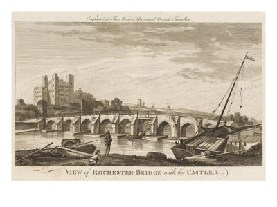 The Medway Bridge and the Castle