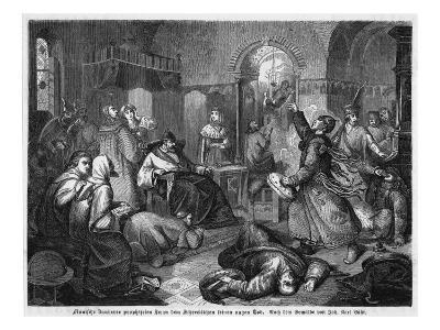 The Death of Ivan the Terrible Is Foretold by a Finnish Sorcerer