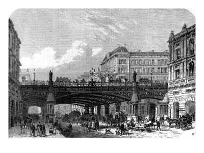 The Holborn Valley Viaduct, London, 1867