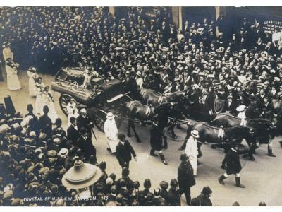 The Crowds at the Funeral of Emily Davison