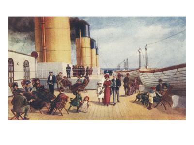 Titanic 2nd Class Deck