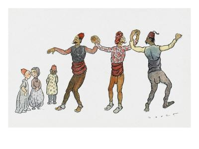Turkish Dancers - Salonica