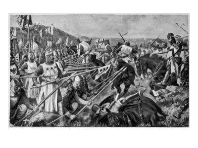 The Scottish Army Led by Robert the Bruce Defeats the Invading English Army of Edward Ii