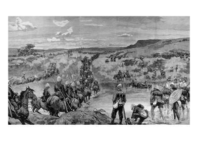 The Zulu War, on the March to Ulundi