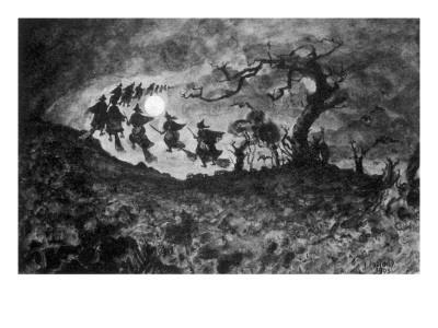 the Witches' Ride'