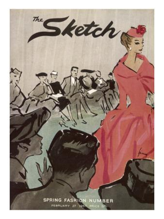 The Sketch Front Cover, 1957