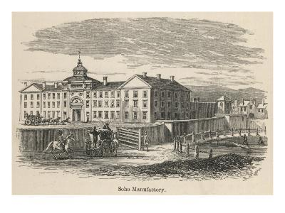 The Soho Manufactory, Near Birmingham, Established by Matthew Boulton in the 1760's
