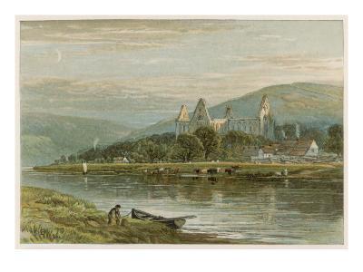 Tintern Abbey at Sunset