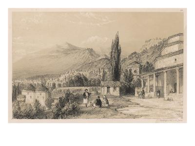 View of Bursa (Formerly Brusa) with Ulu Dag (Formerly Mount Olympus) in the Distance