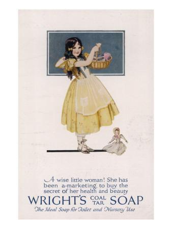 Wright's Coal Tar Soap - the Ideal Soap for Toilet and Nursery Use