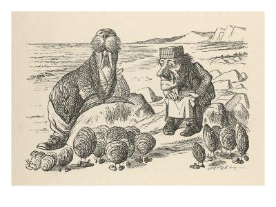 Walrus and Carpenter Address the Oysters