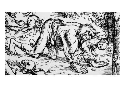 Werewolf and Child