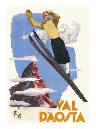 Val D'Aosta Poster