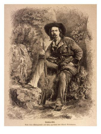 William Frederick Cody, Better known as Buffalo Bill