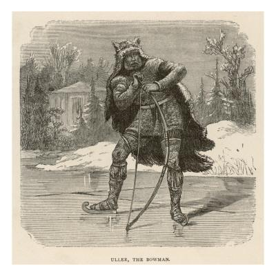 Uller the Bowman, God of Winter and Archery