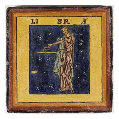 Zodiac Tile / Libra