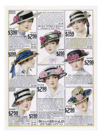 Womens Hats 1916