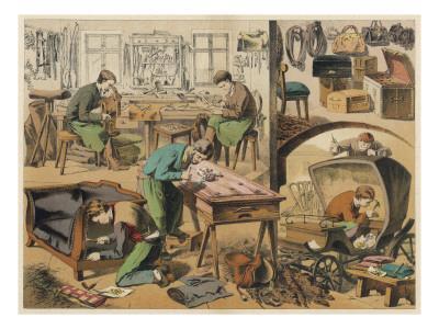 Workshop of a Saddler and Upholsterer