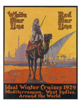 White / Red Star Lines Winter Cruises