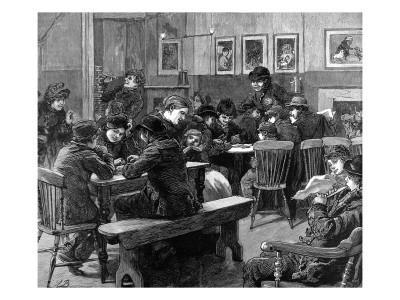 Youth Club in Islington, London, 1887