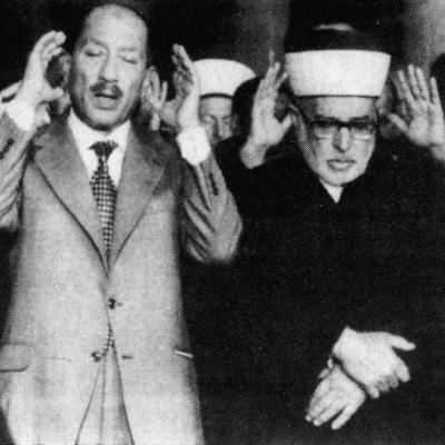 Anwar Sadat at Prayer