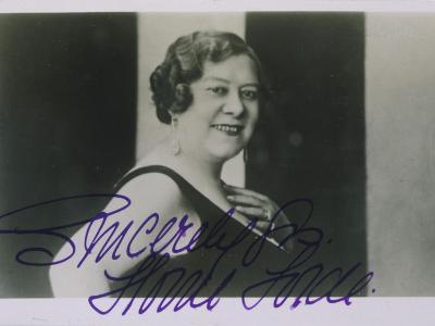 Florrie Forde Music Hall Singer from Australia