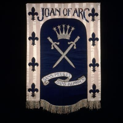 Joan of Arc Banner Designed by Barbara Forbes