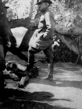 US General John J. Pershing at Brigade Headquarters Near Casas Grande, Mexico