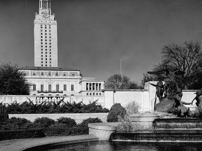 A View Showing the Exterior of the Texas University