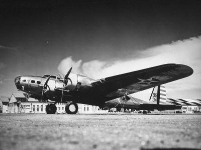 A Douglas B18 Bomber Sitting at the Airport