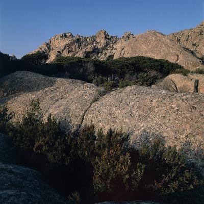 Rocks on a Mountain, Caprera, Sardinia, Italy