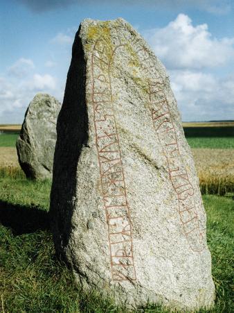 Runes Written on a Stone
